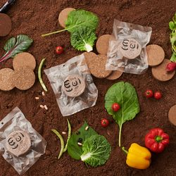 매직압축배양토 꿈꾸는 흙 토비 화분 상토 10팩 세트
