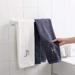 못질이 필요 없는 욕실 수건걸이 (소형)