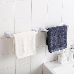 못질이 필요 없는 욕실 수건걸이 (대형)