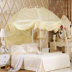 유니룸 텐트형 사각 모기장(베이지)(3인용)