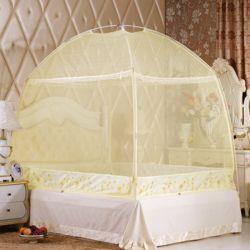 유니룸 돔형 사각 모기장(베이지)(3-4인용)