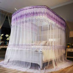 데이스윗 침대 모기장(퍼플)(180x200cm)