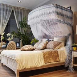 데이스윗 침대 모기장(그레이)(150x200cm)