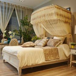 데이스윗 침대 모기장(베이지)(150x200cm)