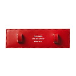 SHOULDER PAD red