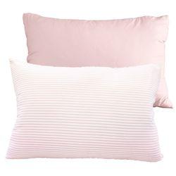 향균 프링글 베개커버 40x60 핑크 2장