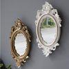 로렌 골드 거울 (소) - 2color