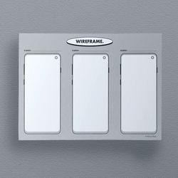 와이어프레임 UI UX 디자인 노트 (안드로이드)