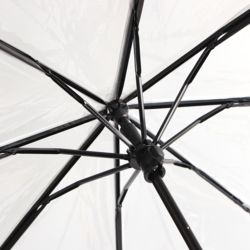 초경량 3단 투명 우산