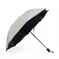 큐브 패턴 3단 우산