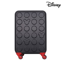 디즈니 미키 블럭 하드 캐리어 블랙 20인치 (기내용)