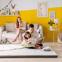 엄마토퍼 접이식 매트리스 바닥 수면매트 슈퍼싱글