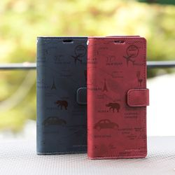 갤럭시노트9 (N960) Rico-TonleSap 지갑 다이어리 케이스