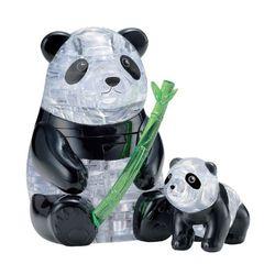 51피스 크리스탈퍼즐 - 팬더 가족