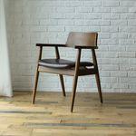 포엔 PU 원목 의자