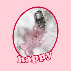 happy key ring (키링)