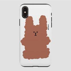 (터프) 복실 토끼-브라운