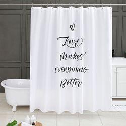 러브메이크 욕실커튼 방수 샤워 가리개