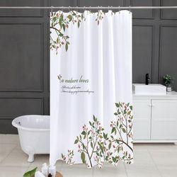 네이쳐러브 욕실커튼 방수 샤워 가리개