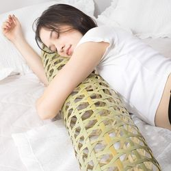 대나무죽부인 여름베개