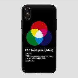 (카드) RGB-가로-블랙
