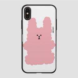 (카드) 복실 토끼-핑크