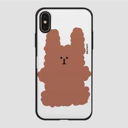 (카드) 복실 토끼-브라운