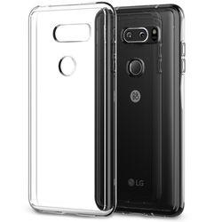 신지모루 LG V30 에어클로 투명 핸드폰 케이스