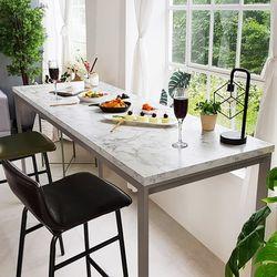 스틸마블 홈바 테이블 1600x600