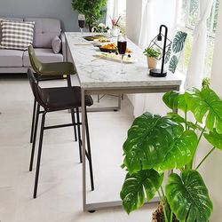 스틸마블 홈바 테이블 1400x600