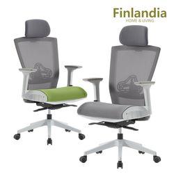 핀란디아 클라이 CT30W 에어 학생사무용 의자(헤드형)
