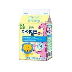 건국우유 가정배달 건국 아이밀크꼬끼우 180ml (주5회4주)