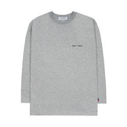 Time Long Sleeve (gray)
