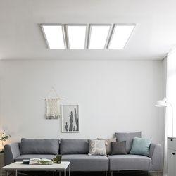 스피아노 LED평판엣지조명세트 180W 나열형(침실 중대형거실)