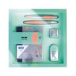 MILAN 밀란 사각 기프트 박스 실버 에디션