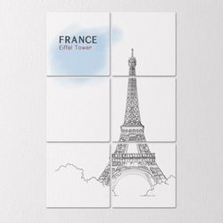 tb353-멀티액자프랑스에펠탑