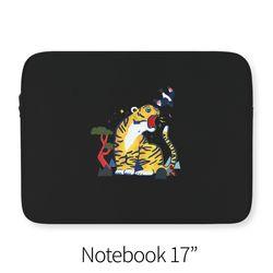 호랑이와 까치 (노트북 17인치 파우치)