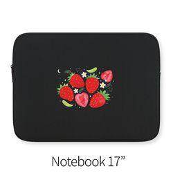 Strawberries (노트북 17인치 파우치)