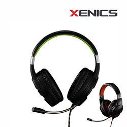 STORMX H2 게이밍 헤드셋 마이크 게임용 헤드폰