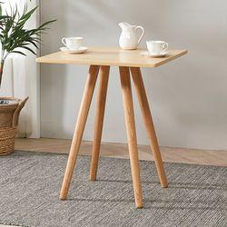 브라우니 2-4인 사각 식탁 티테이블 단품