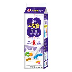 건국우유 가정배달 고칼슘 우유 930ml (주3회4주)