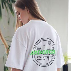 아더로브 유니섹스 아일랜드 서클 티셔츠 ATS192004-WT