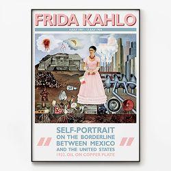 대형 메탈 명화 그림 디자인 포스터 액자 프리다 칼로 A