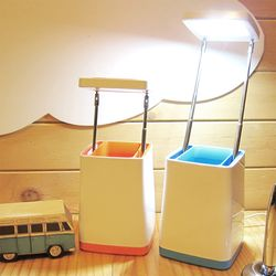 스피아노 USB LED 스탠드 (Pencil vase) SL-400