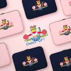 자수포켓 노트북파우치 Cheer up (노트북 13인치 파우치)