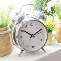 클린벨크롬자명종시계(소)