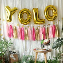oh 트렌드 파티 장식세트 (YOLO)