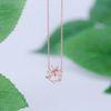 멸종위기꽃 한라산의 에델바이스한라솜다리 목걸이 CLNR19872MPW
