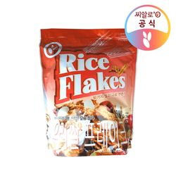 씨알로 우리쌀 프레이크 대용량 지퍼백(1.5kg)