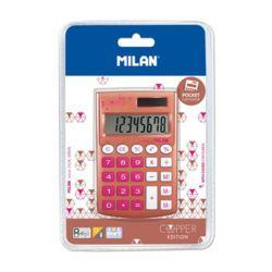 밀란 포켓 코퍼 계산기 핑크